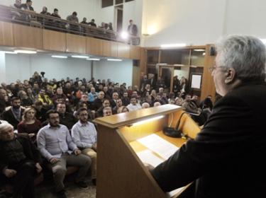 Κεντρική Ομιλία του Δημήτρη Ραψωματιώτη (video)